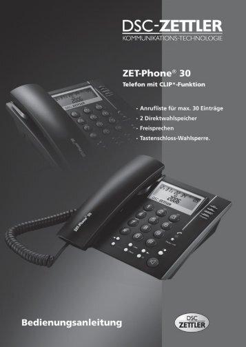Bedienungsanleitung - Telefon.de