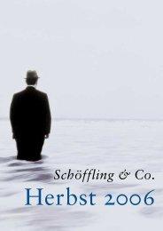 Isabel Boltons Romane handeln von der ... - Schöffling & Co.