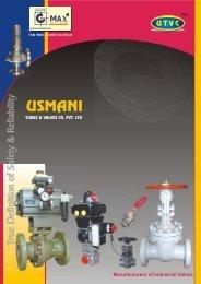 Manufacturers of Industrial Valves - Usmani Tubes & Valves Co ...