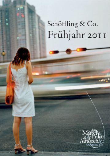 Frühjahr 2011 Vorschau - Schöffling & Co.
