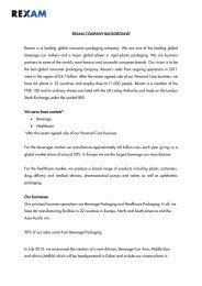 Download the BRAU Beviale 2012 press pack PDF - Rexam