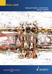 News 2008 - Schott Music
