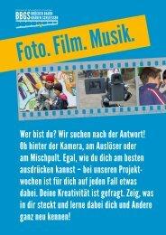 Foto. Film. Musik.