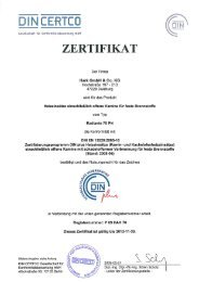 Heizeinsatz Radiante 70 PN - Hark