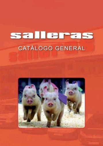 CATÁLOGO GENERAL - Salleras Hermanos SL.