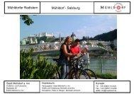 Mühldorfer Radlstern Mühldorf - Salzburg - Stadt Mühldorf am Inn