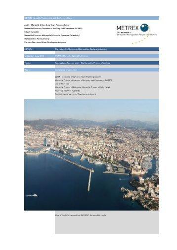 Draft Marseille Programme SC 2.xlsx - METREX - The Network of ...
