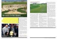 Oasis In The Desert - Harradine Golf