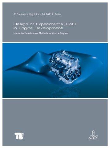 Design of Experiments (DoE) in Engine Development - MDT
