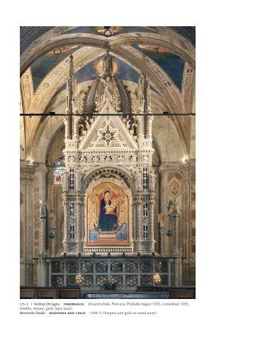 17–1 Andrea Orcagna TABERNACLE Orsanmichele ... - Pearson