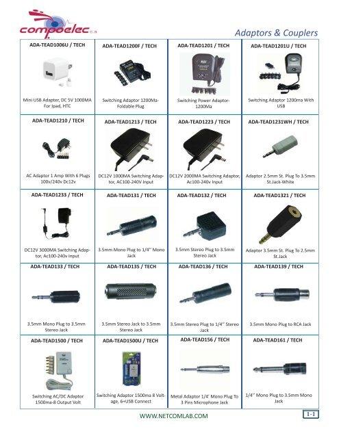 "6x 3-Pin XLR Female Plug to 1//4/"" 6.3mm Stereo Female Jack Adapter Converter F//M"