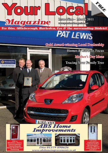 March 2011 Edition - Your Local Magazine