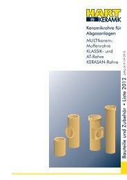 KERASAN Lieferprogramm (Download) - Hart Keramik