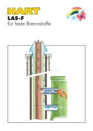 LAS-F für feste Brennstoffe - Hart Keramik
