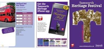 Heritage Festival - Tamworth Borough Council