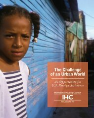 The Challenge of an Urban World - International Housing Coalition