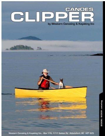 WESTERN CANOER 2008 PDF - Clipper Canoes
