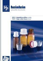 Datenblätter als PDF zum Download - Heinlein Plastik-Technik GmbH