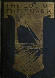 Charmian K. London, The Log of the Snark