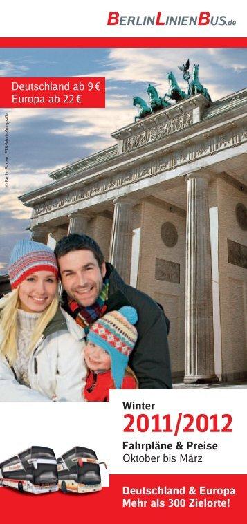 Winter Fahrpläne & Preise Oktober bis März ... - Jenapolis