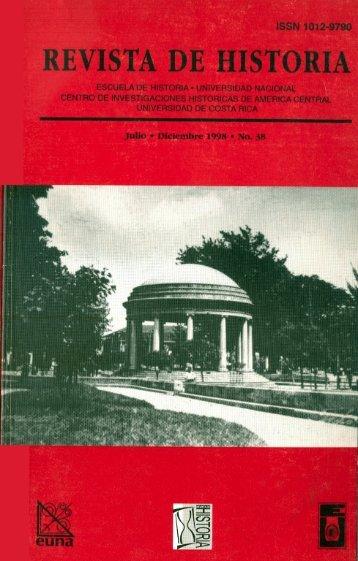 HISTORIA38 - Revista Historia - Universidad de Costa Rica