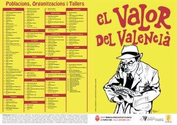 16 d'Abril - SILLA - Escola Valenciana