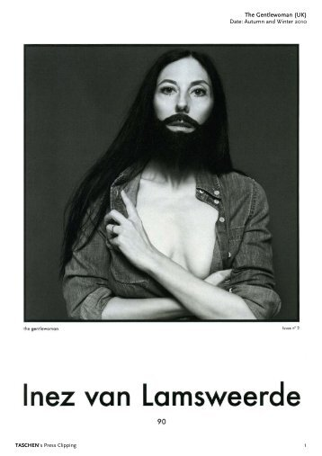 The Gentlewoman (UK) Date: Autumn and Winter 2010 1 - Taschen