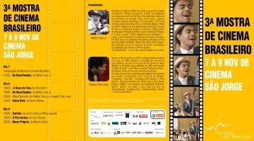 3A MOSTRA DE CINEMA BRASILEIRO - Fundação Luso-Brasileira