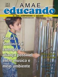45 ANOS ACOMPANHANDO O EDUCADOR - Fundação AMAE