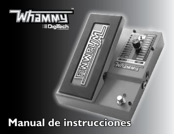 Manual de instrucciones - Digitech