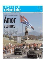 6, 7, 8 y 9 Chávez en Santiago de Cuba - Juventud Rebelde