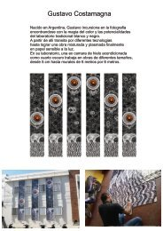 Dossier de Gustavo Costamagna en .pdf (4,8 Mb) - mARTadero