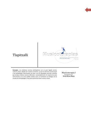 Tlapitzalli - Musicoterapias