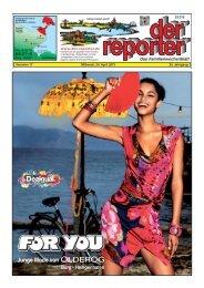 der reporter - Das Familienwochenblatt für Fehmarn 2013 KW 17