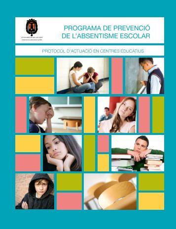programa de prevenció de l'absentisme escolar - Ayuntamiento de ...