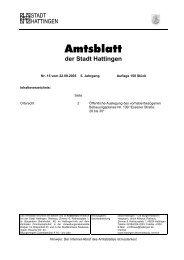 Nr. 15 vom  22. September 2005 - Hattingen