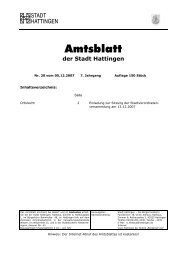 Nr. 20 vom 05. Dezember 2007 - Hattingen