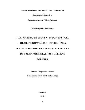 TRATAMENTO DE EFLUENTES POR ENERGIA ... - PHBIO.com.br