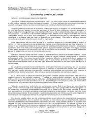 El significado espiritual de la crisis - Pathwork México