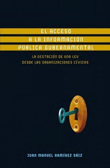 El derecho de acceso a la información 081107.pmd - Publicaciones ...