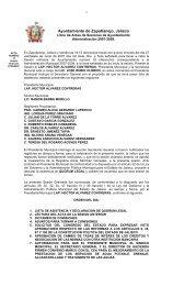 18 Acta sesion ordinaria 27/06/2007 - Zapotlanejo