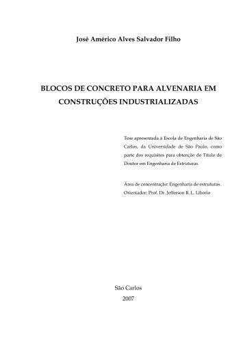 blocos de concreto para alvenaria em construções industrializadas