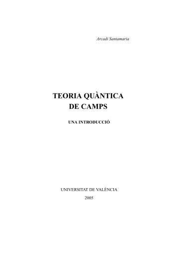TEORIA QUÀNTICA DE CAMPS