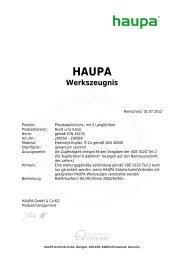 Presskabelschuhe Langloch - Haupa