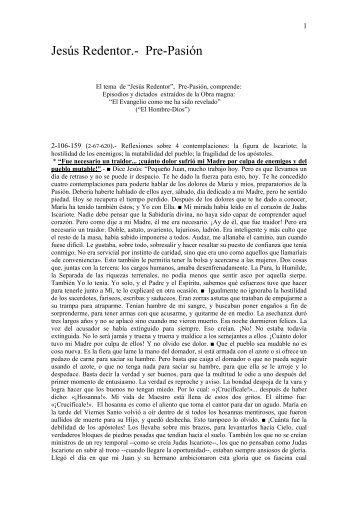 Descargar PDF aquí - Difusión obra María Valtorta