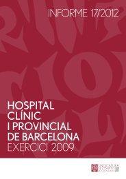 Informe 17/2012 - Sindicatura de Comptes