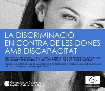 la discriminació en contra de les dones amb ... - centre antigona
