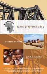Wir freuen uns über Ihre Hilfe! - HausAfrika.de