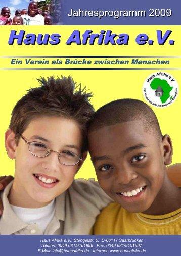 Haus Afrika mischt sich ein! - HausAfrika.de