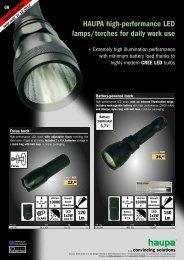 LED lamps PDF download - Haupa